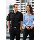Mens Eppaulette Short Sleeve Shirt