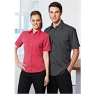 Mens Cuban Short Sleeve Shirt