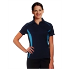 Pursuit CoolDry Contrast Polo Ladies