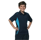 Pursuit CoolDry Contrast Polo Kids