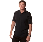 Navy Polo poly-cotton