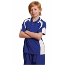 Alliance CoolDry Contrast Polo Kids