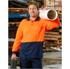 Hi Vis Long Sleeve TrueDry Polo