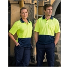Hi Vis CoolDry Safety Polo