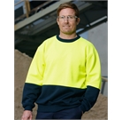 Hi Vis Two Tone Crew Neck