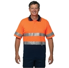 Hi Vis Safety Polo Mens