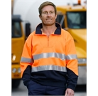Hi Vis Fleece Sweat with Collar & 3M tapes