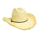 Cowboy frayed Edge hat